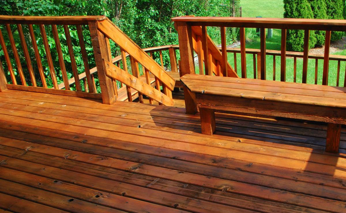deck staining, deck painting, exterior painting