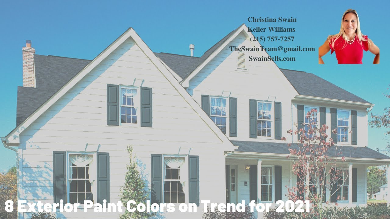 8 Exterior Paint Colors on Trend for 2021