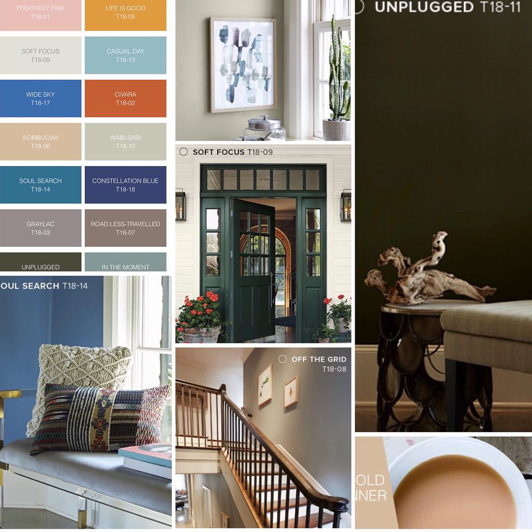BEHR. Affordable color trends 2018! #springhassprung #maybe #letsgettopainting #...