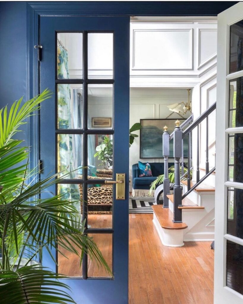 Colour can transform a space and my friend, Jewel @jewelmarlowe uses colour thro...