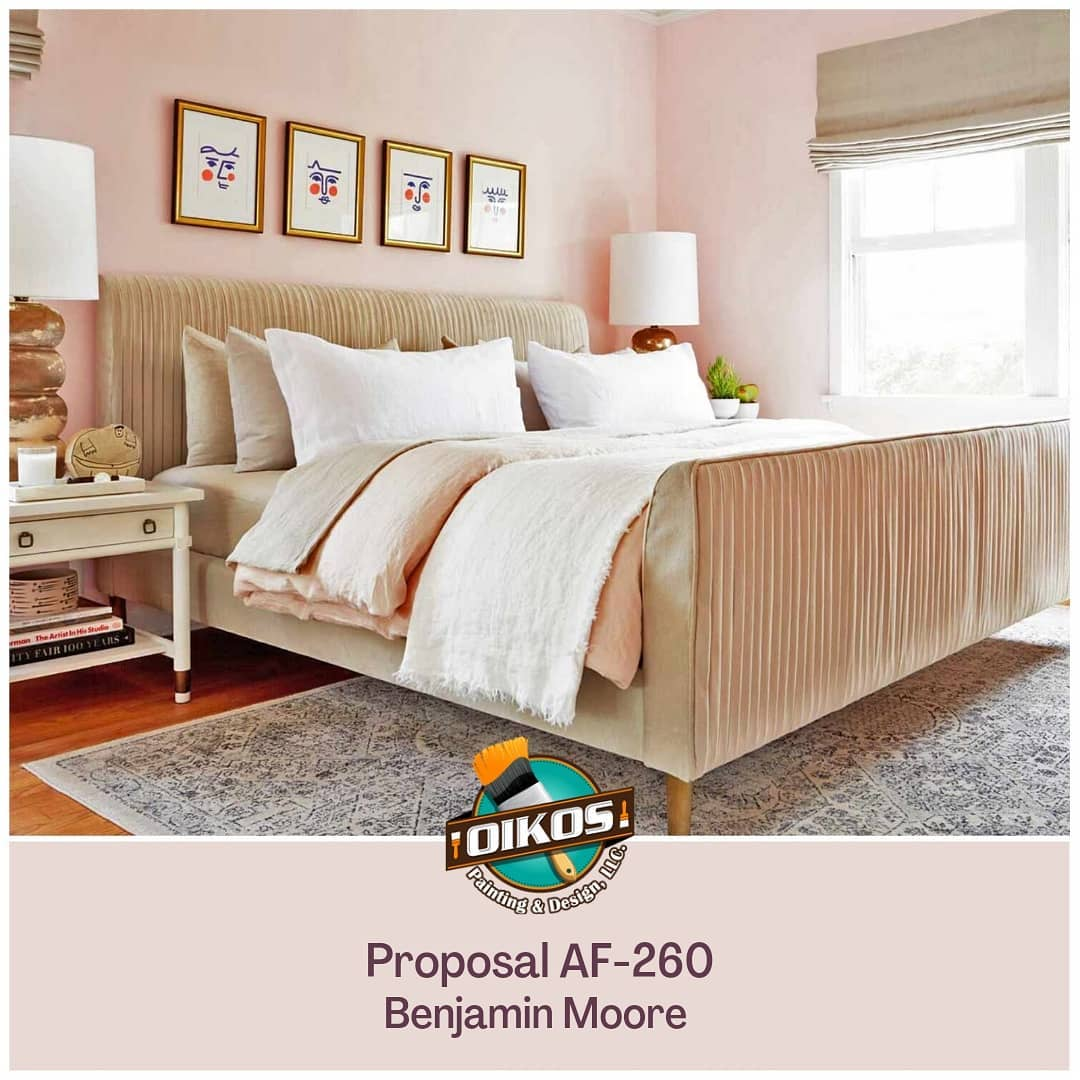 Proposal AF-260 from @benjaminmoore brings comfort and tranquility to any space....