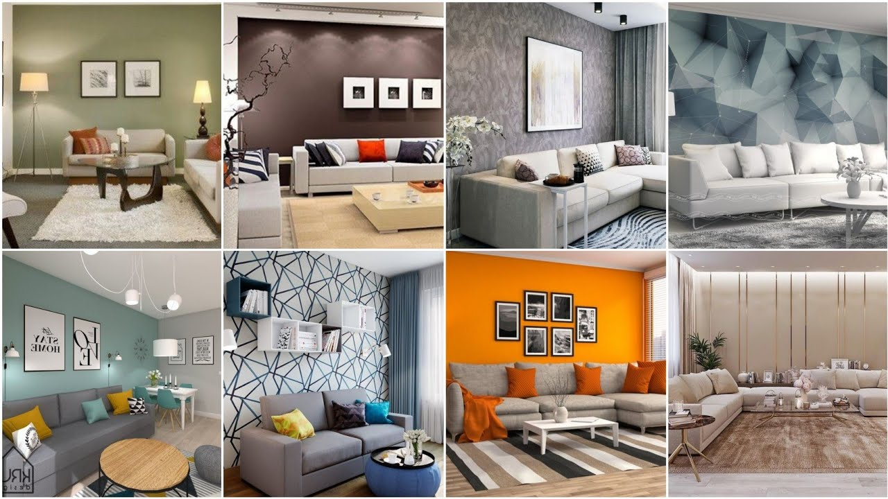 100 Modern Living Room Color, Living Room Paint Colors Ideas 2021