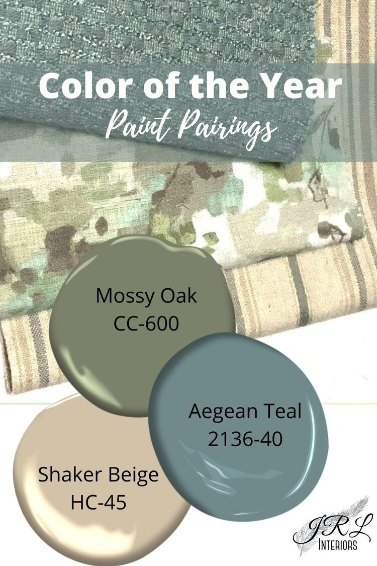 Color of the Year 2021 Aegean Teal
