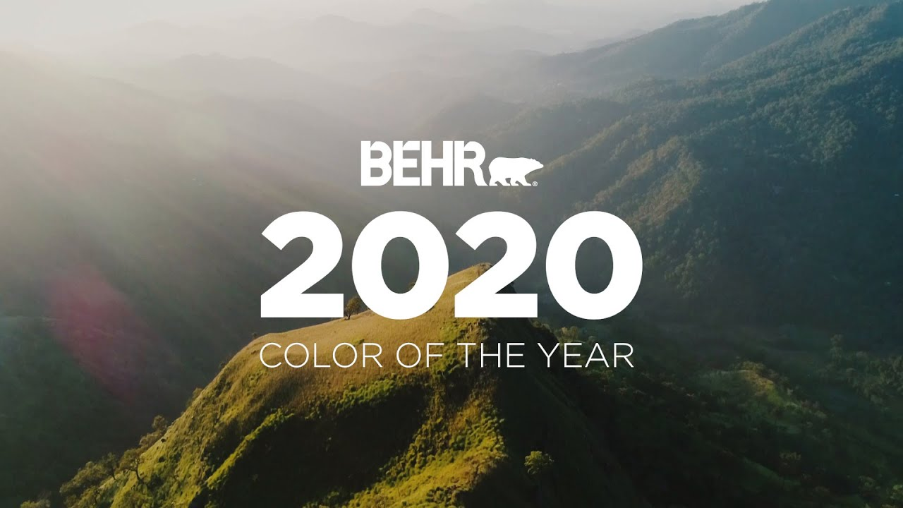 BEHR® 2020 Color of the Year: Back to Nature
