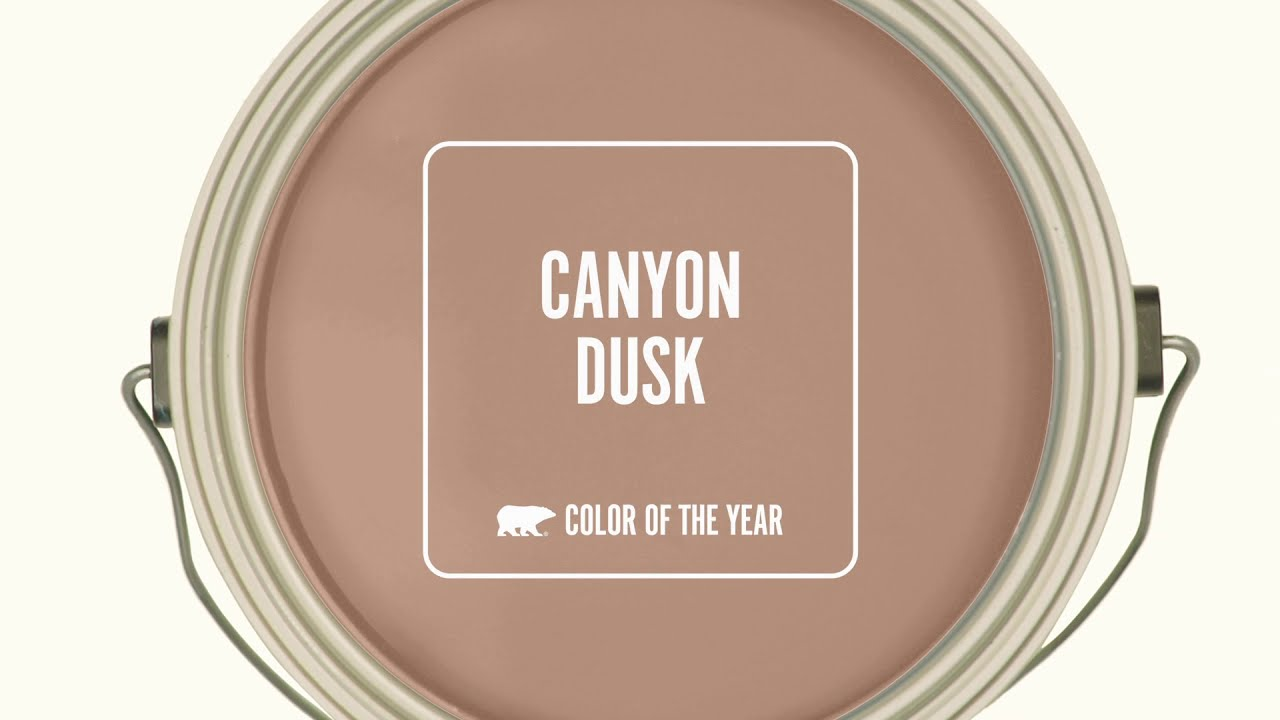 BEHR® 2021 Color of the Year: Canyon Dusk