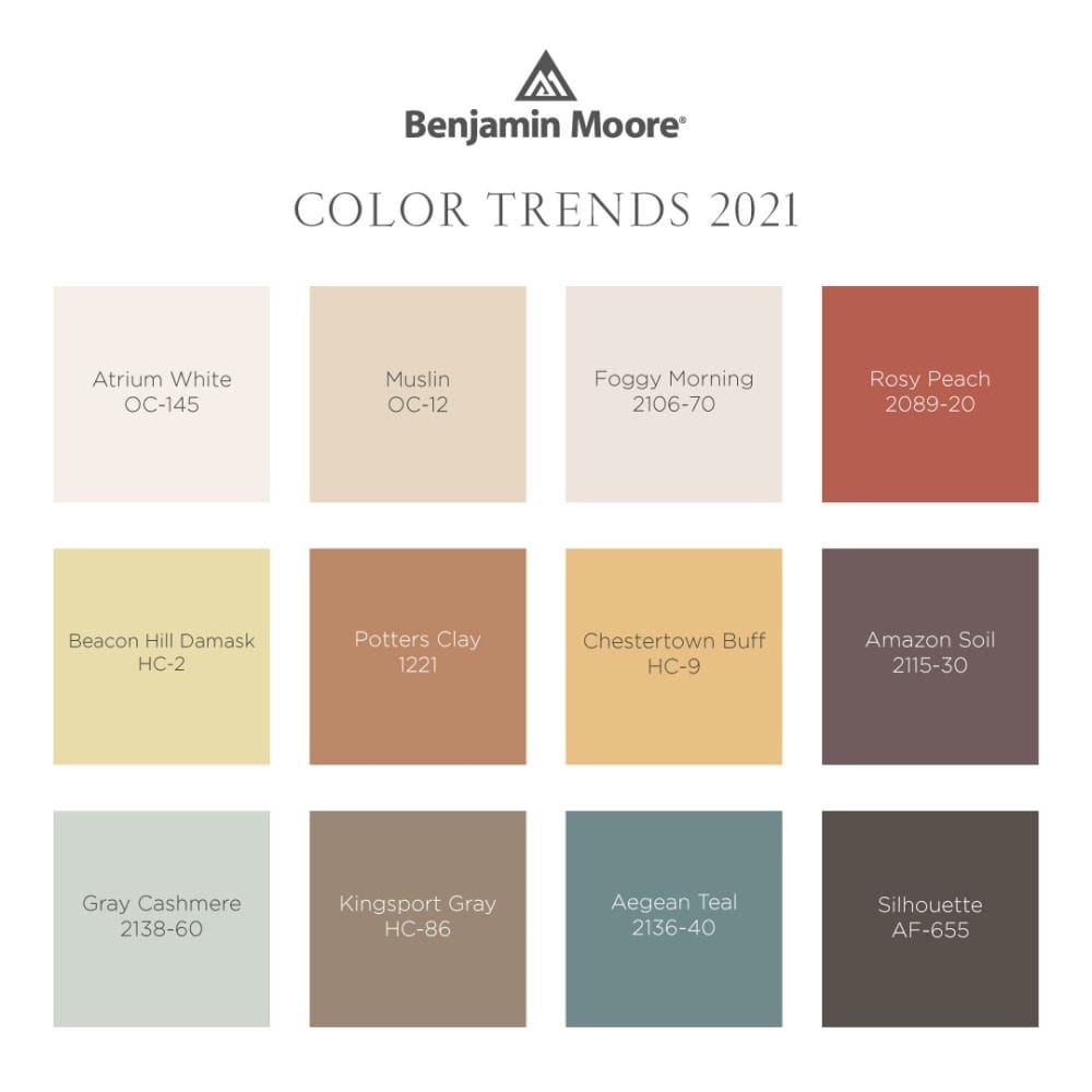 Benjamin Moore's 2021 Color of the Year Is Here–and It's Perfectly Peaceful and Soothing