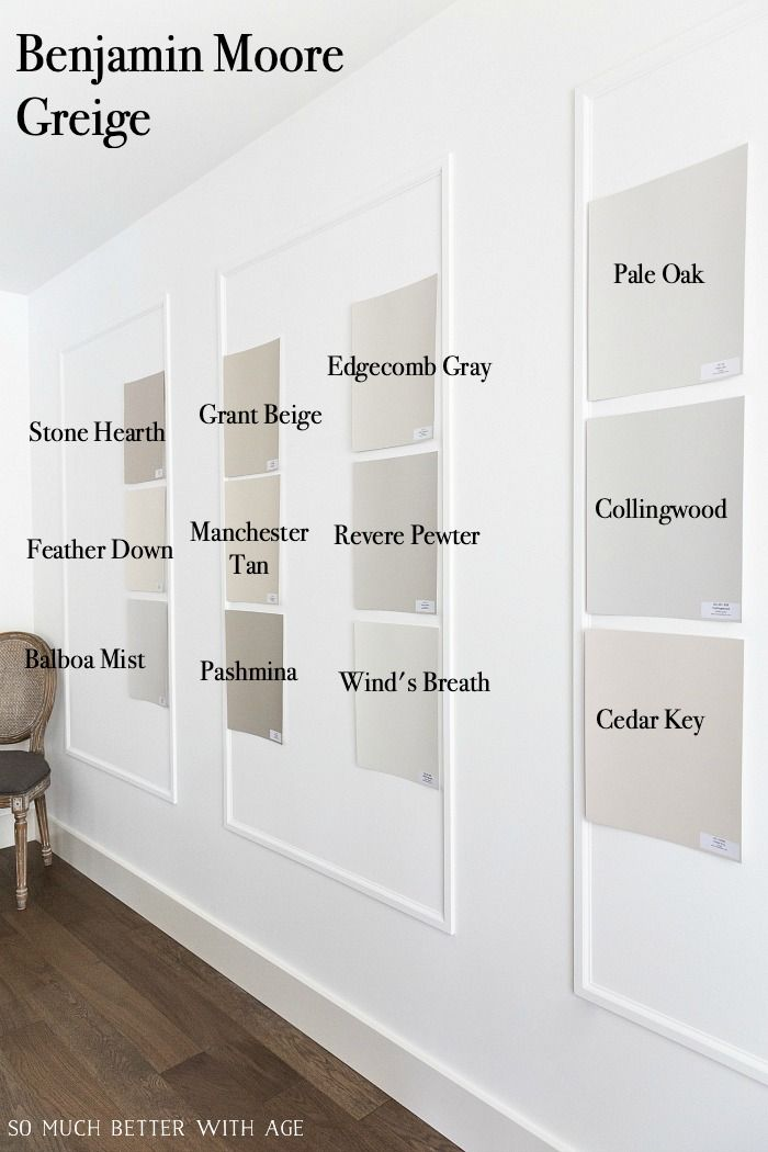 Edgecomb Gray by Benjamin Moore - My Favorite Greige Paint Color