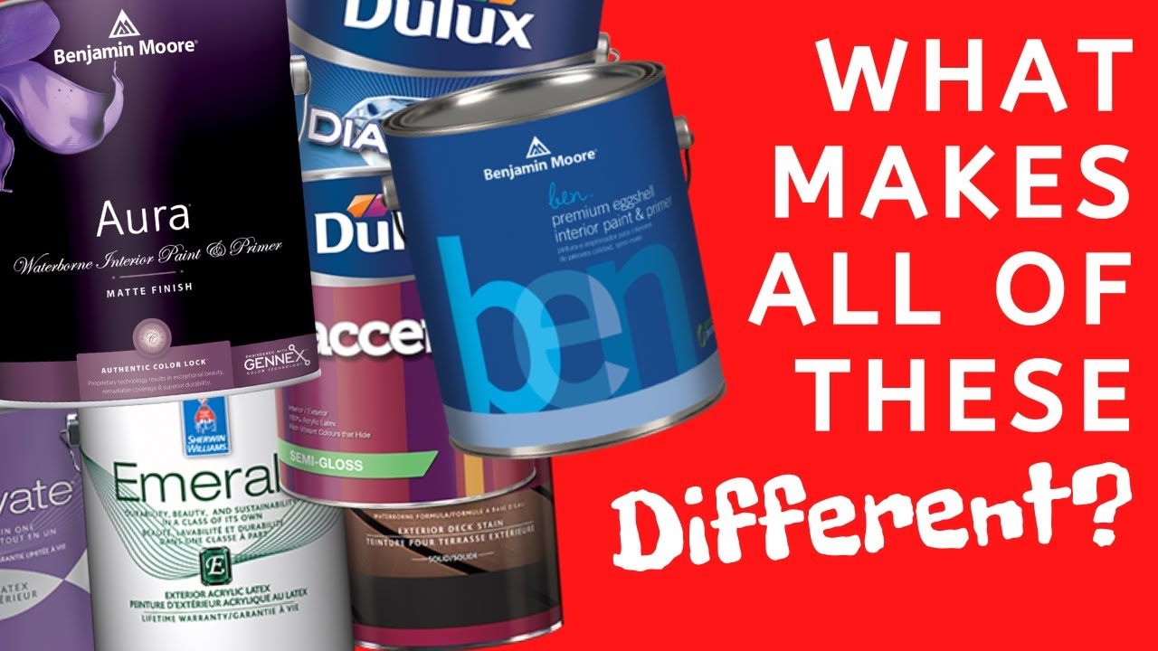 How To Choose Paint   What Are The Different Paint Types?   Paint Grades