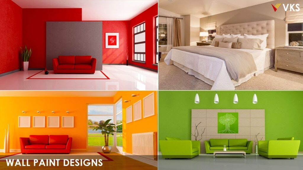 Modern Wall Paint Color Design Ideas   Room Wall Paint Interior  Asian Paint Color Combination