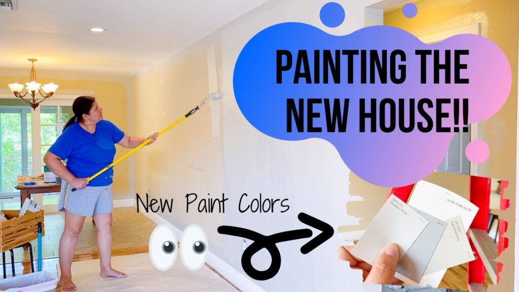 PAINTING THE NEW HOUSE!   FARMHOUSE NEUTRAL PAINT COLORS