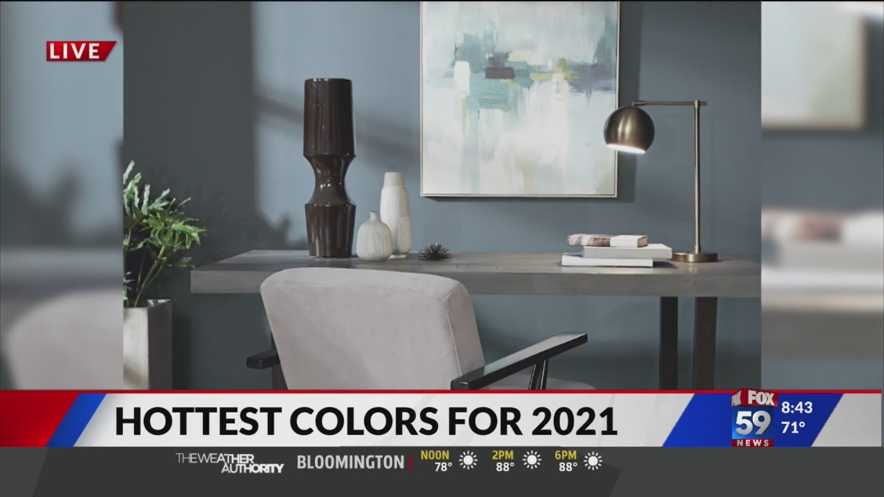 Paint color trends for 2021