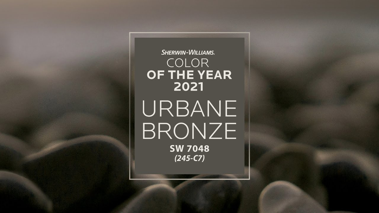 Sherwin-Williams 2021 Color of the Year - Urbane Bronze