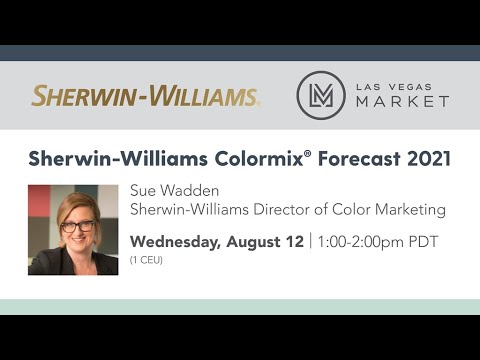 Sherwin Williams Colormix® Forecast 2021