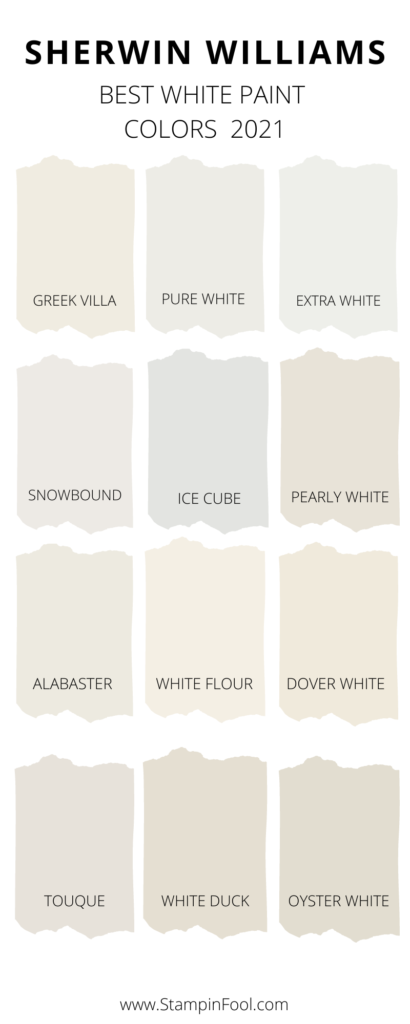 The Best Sherwin Williams White Paint Colors in 2020